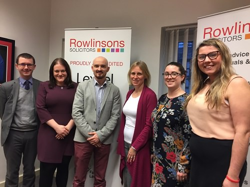Rowlinsons Charity of the year 2020